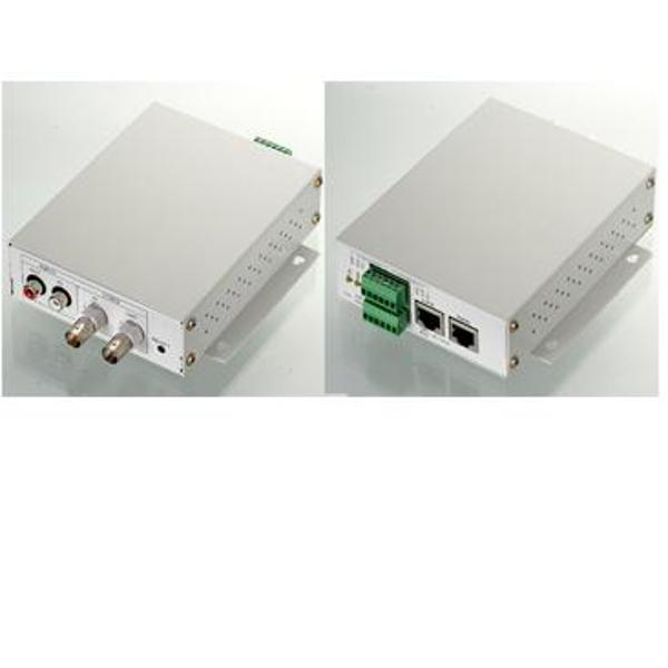 Videoserver cu IP SD 302IP - VideoServer cu IP, 1 canal video conector BNC, 1 intrare audio, 1 iesire video conector BNC